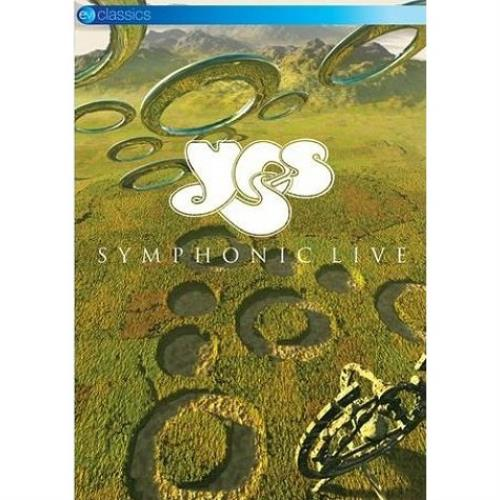 Yes Symphonic Live 2010 UK DVD EVDVD091