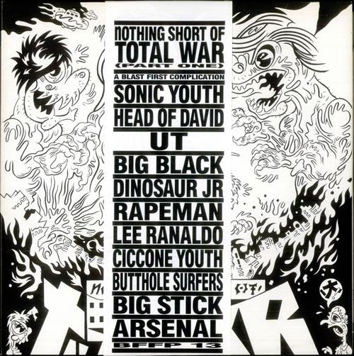 VariousIndie Nothing Short Of Total War (Part One) 1989 UK vinyl LP BFFP13