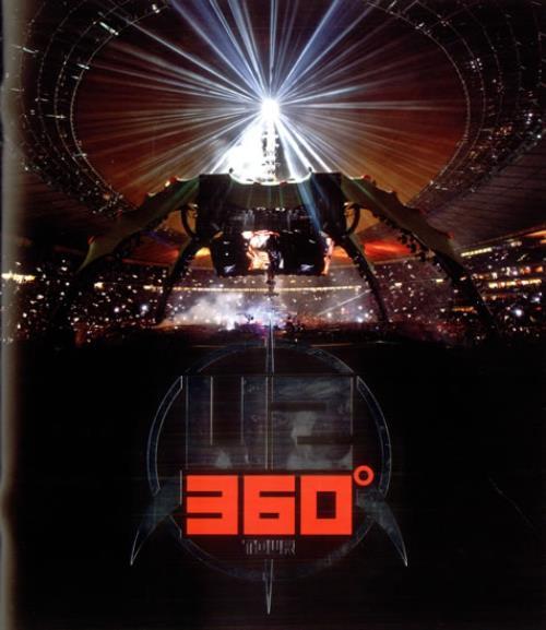 U2 360° Tour  2010 2010 UK tour programme TOUR PROGRAMME