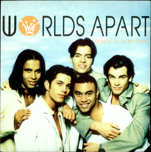 Worlds Apart Beggin\' To Be Written 1994 UK 7\