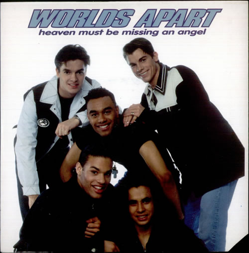 Worlds Apart Heaven Must Be Missing An Angel 1983 UK 7\