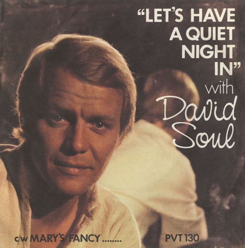 Soul, David - Let's Have A Quiet Night In - P/s