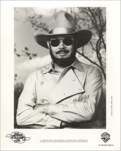 Hank Williams Jr. Lone Wolf 1989 USA press pack PRESS PACK