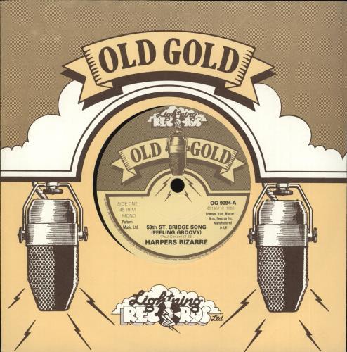 Harpers Bizarre 59th St. Bridge Song (Feeling Groovy) 1980 UK 7\