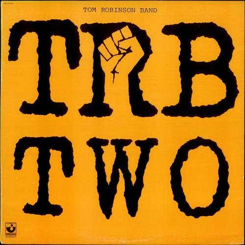 Tom Robinson TRB Two 1979 Canadian vinyl LP ST11930