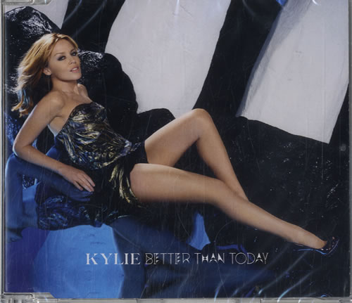 Kylie Minogue Better Than Today 2010 UK 2CD single set CDRRS6828