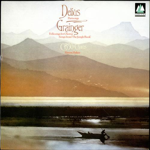 Image of Frederick Delius Partsongs 1988 UK vinyl LP CFC162