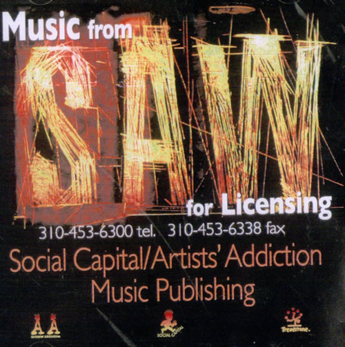 Charlie Clouser Music From The Saw Films USA CDR acetate CDR ACETATE