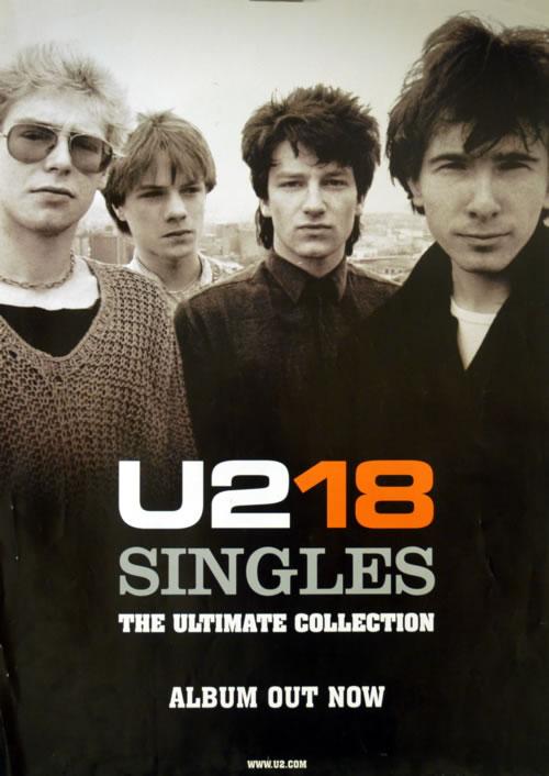 U2 - U218 Singles - Pair Of Posters