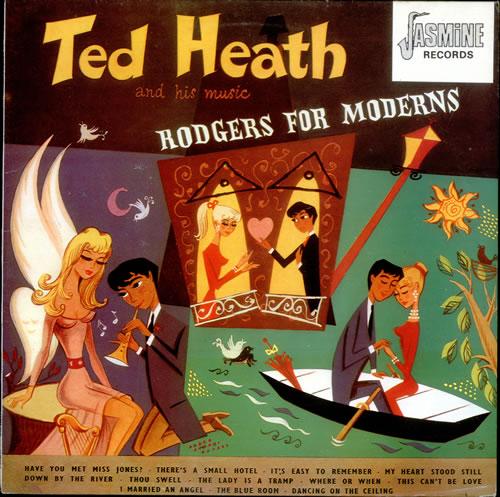 Ted Heath Rodgers For Moderns 1983 UK vinyl LP JASM2025