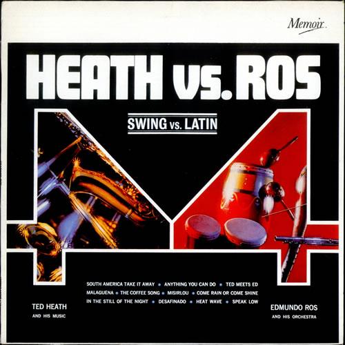 Ted Heath Swing vs. Latin UK vinyl LP MOIR134