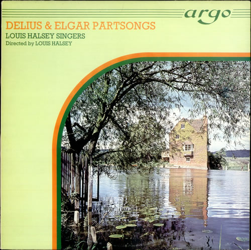 Image of Frederick Delius Delius & Elgar Partsongs 1977 UK vinyl LP ZK23