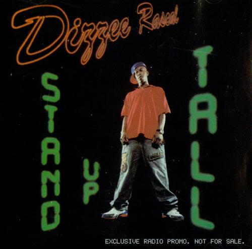 Image of Dizzee Rascal Stand Up Tall 2004 USA CD single PROMO CD