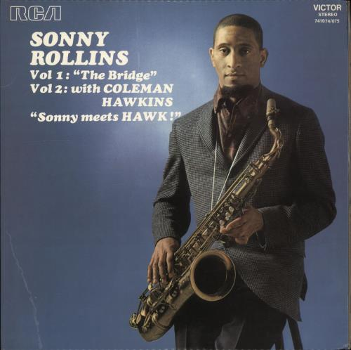 Sonny Rollins Vol 1: The Bridge Vol 2: Sonny Meets Hawk 1975 French 2-LP vinyl set 741074/075