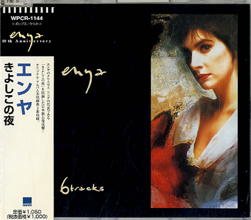 Enya 6 Tracks 1997 Japanese CD single WPCR1144