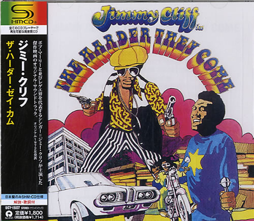 Jimmy Cliff The Harder They Come 2011 Japanese SHM CD UICY15037