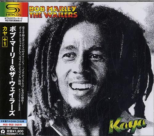 Bob Marley Kaya 2011 Japanese SHM CD UICY15027