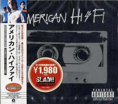 American HiFi American HiFi 2001 Japanese CD album UICL9002