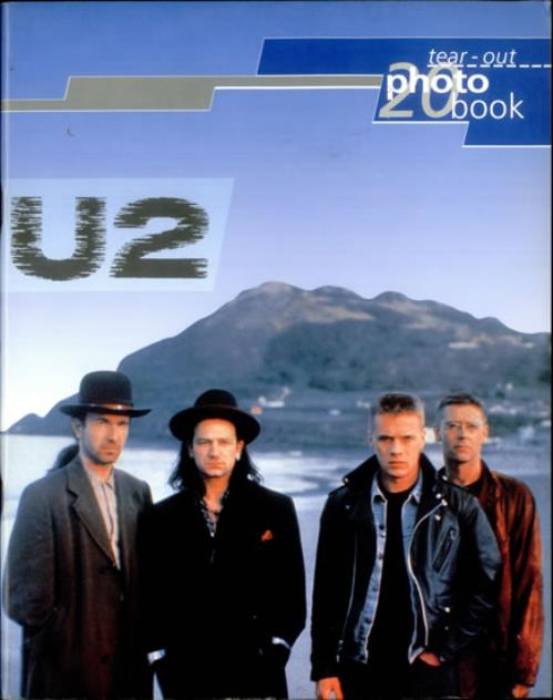 U2 U2  A Tear Out Photobook 1993 UK book PHOTO BOOK