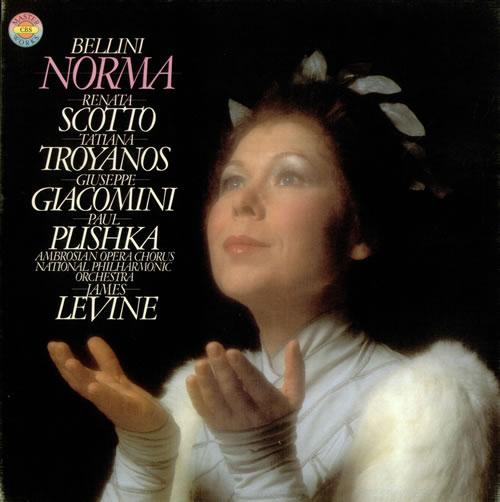 Image of Bellini Norma 1980 UK 3-LP vinyl set 79327