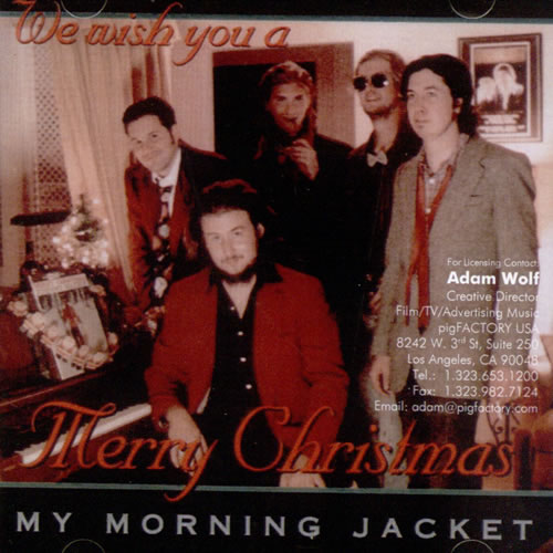 My Morning Jacket My Morning Jacket Does Xmas Fiasco Style USA CDR acetate CDR ACETATE