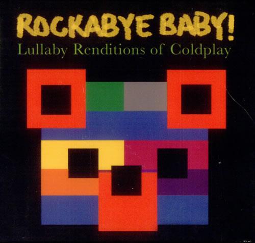 Coldplay Rockabye Baby!  Slipcase 2006 USA CD album CD9801