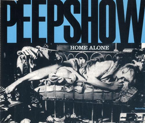 Peepshow Home Alone 1995 UK CD single FA04CD