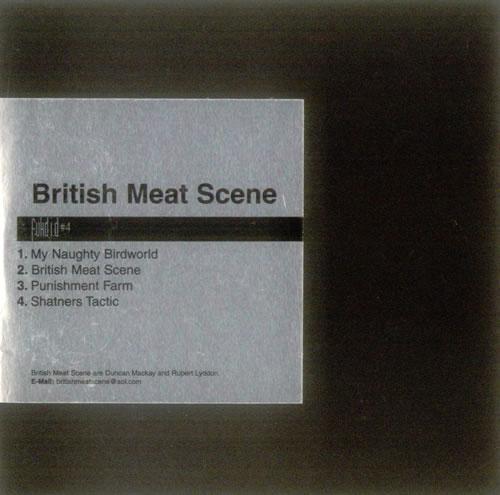 British Meat Scene Fukd I.D. #4 2001 UK CD single CHEM054CD
