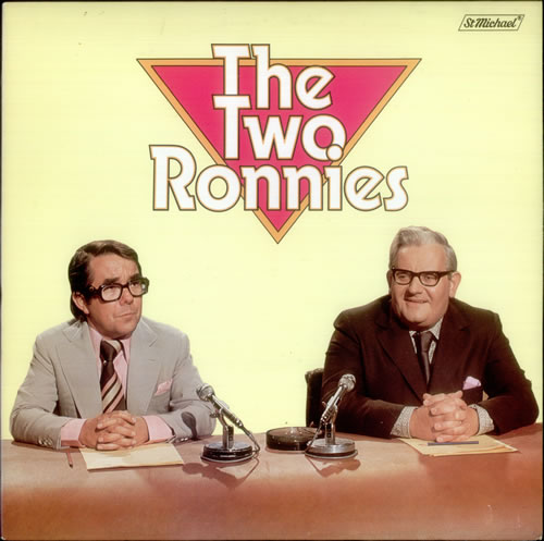 The Two Ronnies The Two Ronnies 1976 UK vinyl LP 21720501
