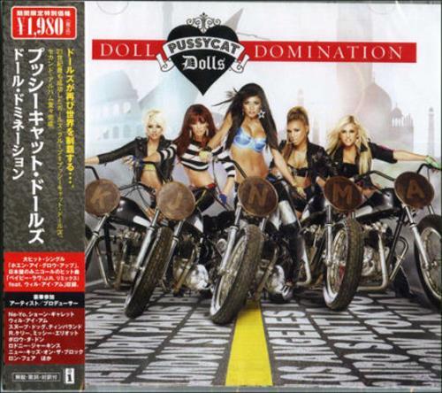 The Pussycat Dolls Doll Domination 2008 Japanese CD album UICS9096