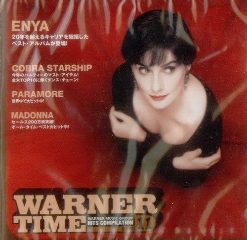 Enya Warner Time 2009 Hits Compilation 2009 Japanese CD album PCS859