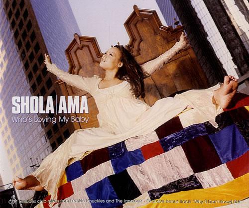 Shola Ama Whos Loving My Baby 1997 UK CD single WEA145CD2