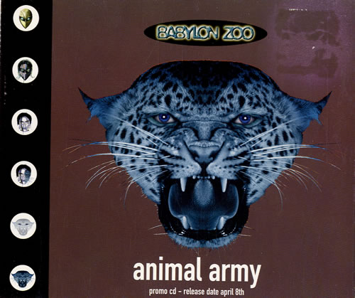Babylon Zoo Animal Army 1996 UK CD single CDEMDJ425