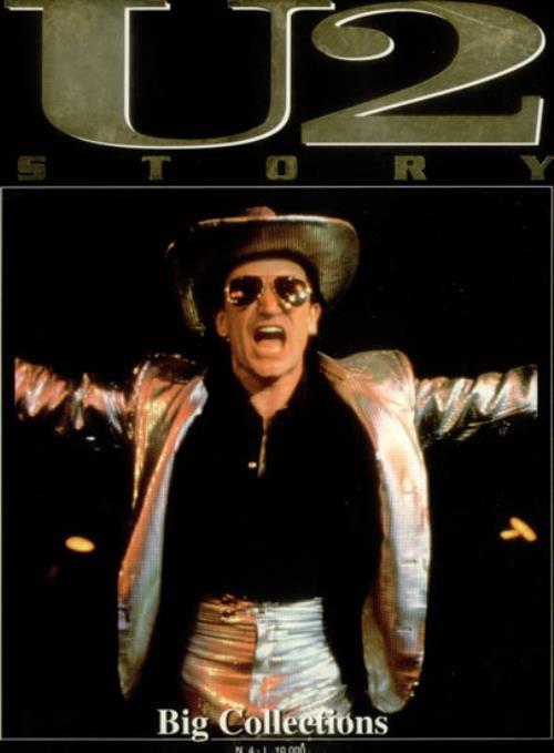 U2 U2 Story Italian book SOFTBACK BOOK