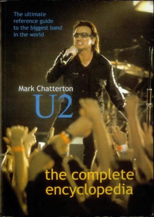 U2 The Complete Encyclopedia 2001 UK book 0946719411