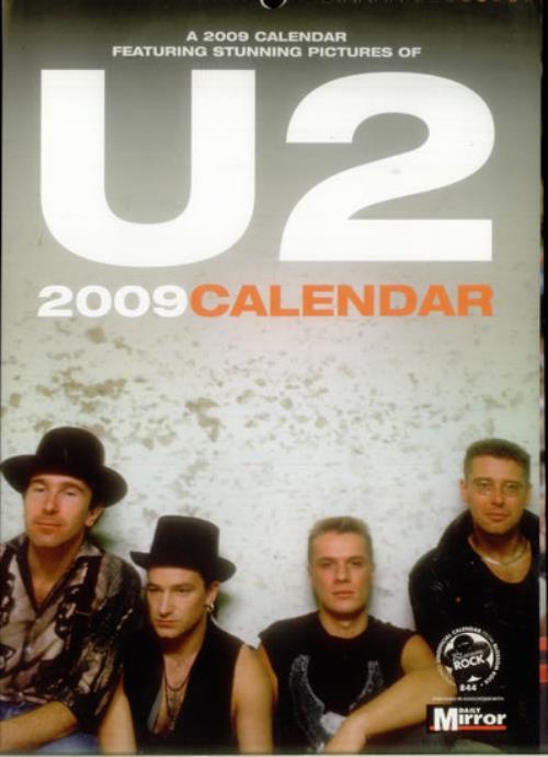 2009 Calendar - U2
