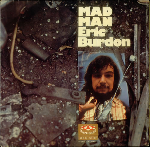 Eric Burdon Mad Man 1976 German 2LP vinyl set 2674004