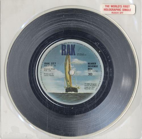 3D Nearer (Revenge Mix) 1984 UK 7 picture disc RAKH377
