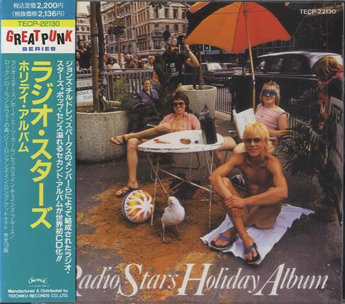 Radio Stars Radio Stars Holiday Album 1990 Japanese CD album TECP22130