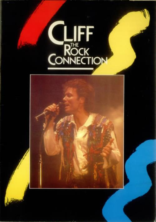 Cliff Richard The Rock Connection  Tickets 1985 UK tour programme PROGRAMME  TICKETS