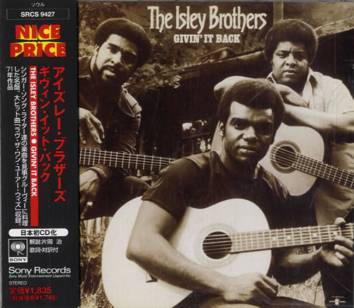 Isley Brothers - Givin' It Back