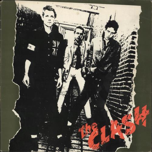 The Clash The Clash  1st  EX 1977 UK vinyl LP CBS82000