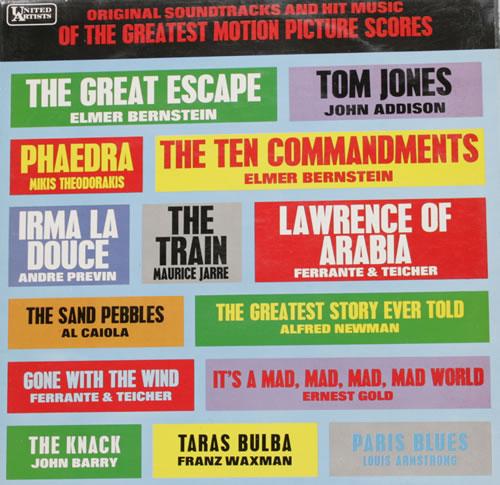 VariousFilm Radio Theatre & TV Original Soundtracks 1967 UK vinyl LP SULP1182