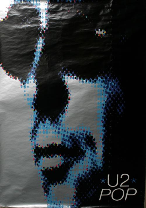 U2 Pop  Adam Clayton 40 x 60 1997 UK poster PROMO POSTER
