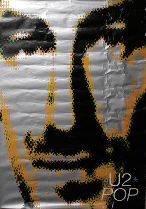 U2 Pop  Bono 40 x 60 UK poster FLY POSTER