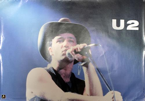 U2 Bono Of U2 1988 UK poster POSTER