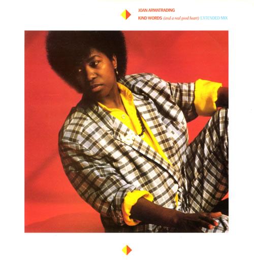 Joan Armatrading Kind Words (And A Real Good Heart) 1986 UK 12 vinyl AMY315