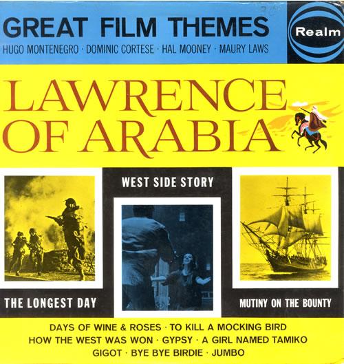 VariousFilm Radio Theatre & TV Great Film Themes 1963 UK vinyl LP RMS6130