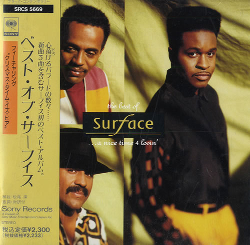 Surface The Best Of 1991 Japanese CD album SRCS5669