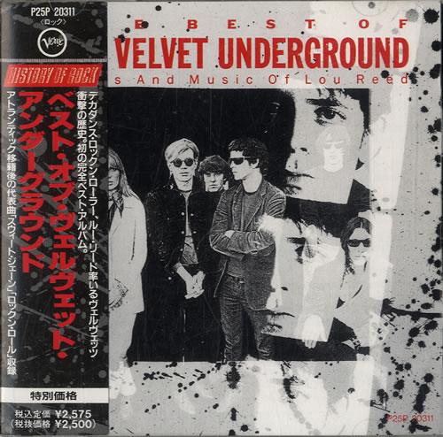 Velvet Underground The Best Of The Velvet Underground 1990 Japanese CD album P25P20311